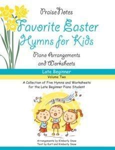 favorite easter hymns for kids volume 2