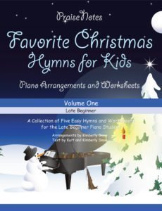 favorite chistmas hymns for kids volume 1