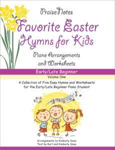 favorite easter hymns for kids - volume 1