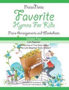 favorite hymns for kids - volume 4