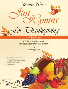 Just Hymns for Thanksgiving